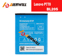 100% Original Battery replace Batteries BL205 3500MAH Battery for Lenovo P770 smartphone + tracking number