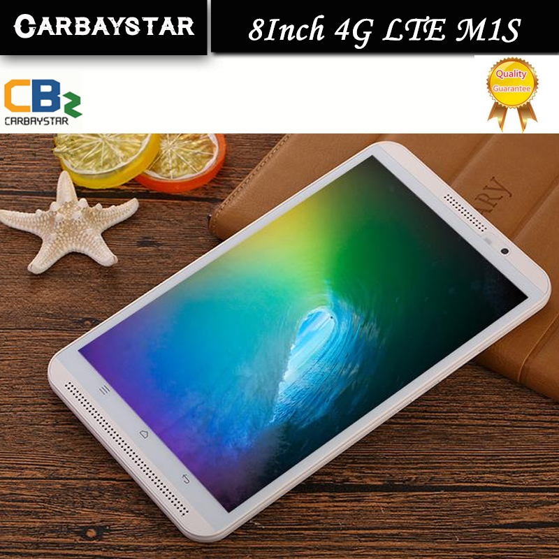 CARBAYSTAR Octa Core 8 inch Double SIM card M1S Tablet Pc 4G LTE phone mobile metal android tablet pc RAM 4GB ROM 64GB 8 MP IPS(China (Mainland))