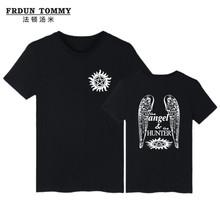 Buy Supernatural Brand Clothing Cotton T-shirt T Shirt Women Summer Tee Shirt Short Sleeve Clothes Casual Black Summer T-shirt for $8.74 in AliExpress store