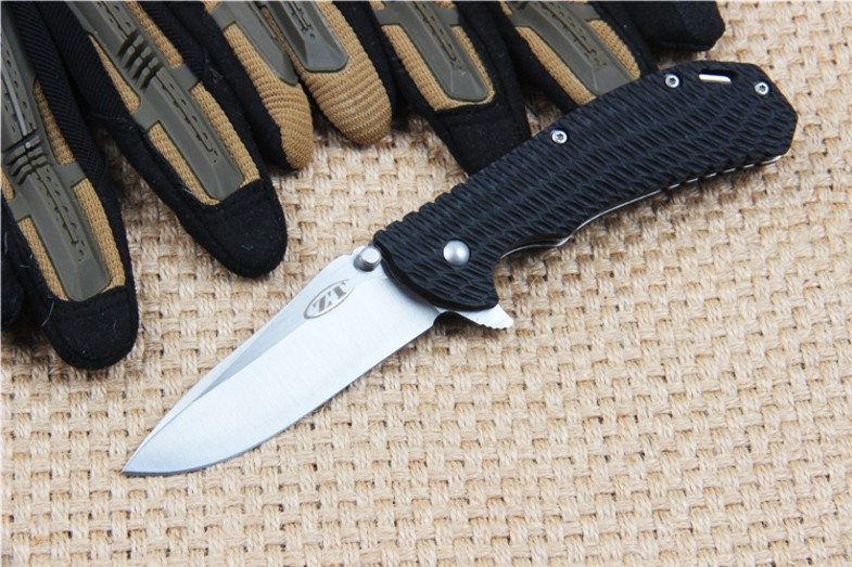 Buy NEW ZT Pocket Folding Knife Tactical Survival EDC Knife Outdoor Hunting Combat Camping Camping survival tools cheap