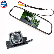 Buy Car Auto Parking Camera Monitors System, IR Night Vision Rear View Camera 4.3 inch LCD Car Mirror Monitor Camera WF Co.,Ltd) for $26.83 in AliExpress store