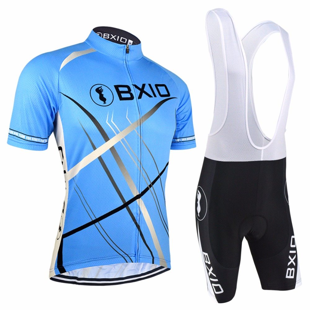 Bxio Cycling Jersey Discounted Cycling Jerseys Blue Mountain Bike Clothes Hot Ropa Ciclismo Hombre Mtb Maillot Ciclismo 0209B047(China (Mainland))