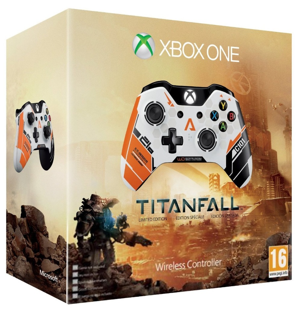 Free Shipping Original Microsoft Xbox One Titanfall Limited Edition Wireless Controller(China (Mainland))