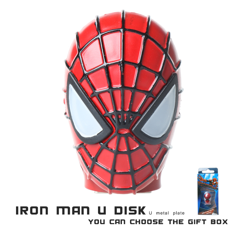 Real Capacity High write speed 2015 New hot sale spider man Usb 2.0 Usb flash drive 8gb/16gb/32gb pen drive pendrives PD0001<br><br>Aliexpress