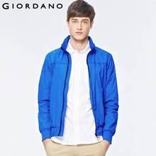 Giordano Men Solid Sport Jacket Mens Zip Front Windbreaker Hidden Hood Jackets for Man Chaqueta Hombre Blouson Homme(China (Mainland))