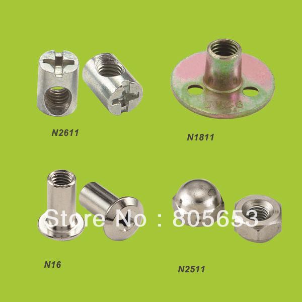 High quality Furniture cross head hammer nut barrel nut (N2611)