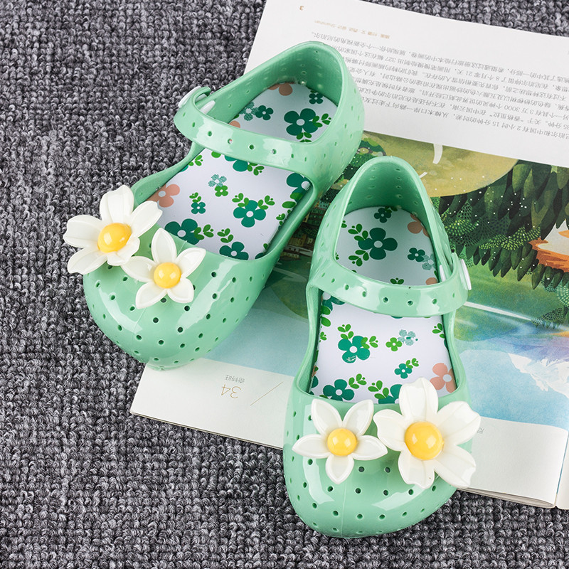 Melissa Melissa flowers summer jelly shoes children's shoes baby shoes sandals baby shoes manufacturers direct sales(China (Mainland))