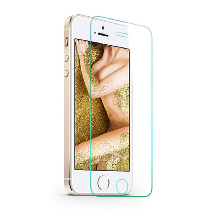 For iPhone 5s se Glass font b Screen b font font b protector b font Pelicula