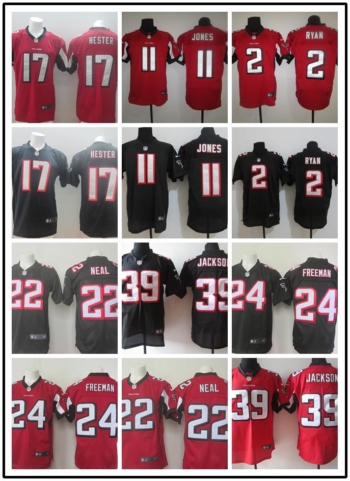Stitiched,Atlanta Falcons Keanu Neal Devonta Freeman Steven Jackson Devin Hester Julio Jones Matt Ryan(China (Mainland))