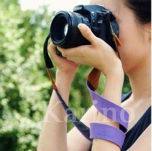 Free Shipping Wholesale Fashion Shoulder Camera Strap, Colorful Strap