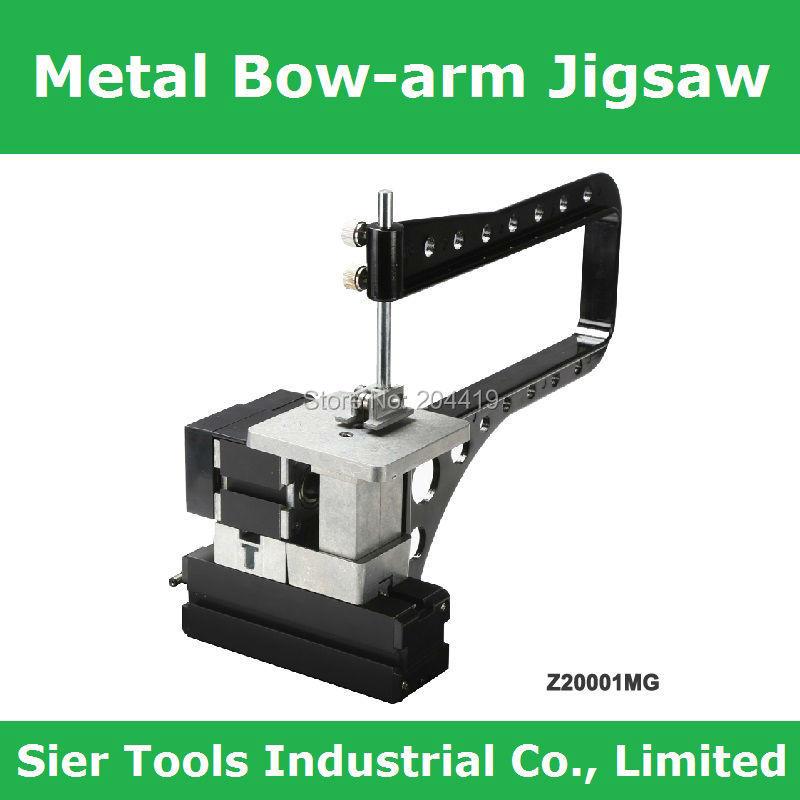 All Metal Bow-Arm Jigsaw/Z20001MG DIY metal jig saw/24W,20000rpm metal jigsaw with bow arm/mini instructional lathe(China (Mainland))
