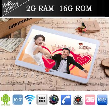 """Оригинальный N9106 10 """" планшет пк Android 4.4 3 г телефонный звонок две сим четырехъядерных процессоров 2 г / 16 г GPS Bluetooth FM wifi двойная Caremas 2 + 5MP pad"""