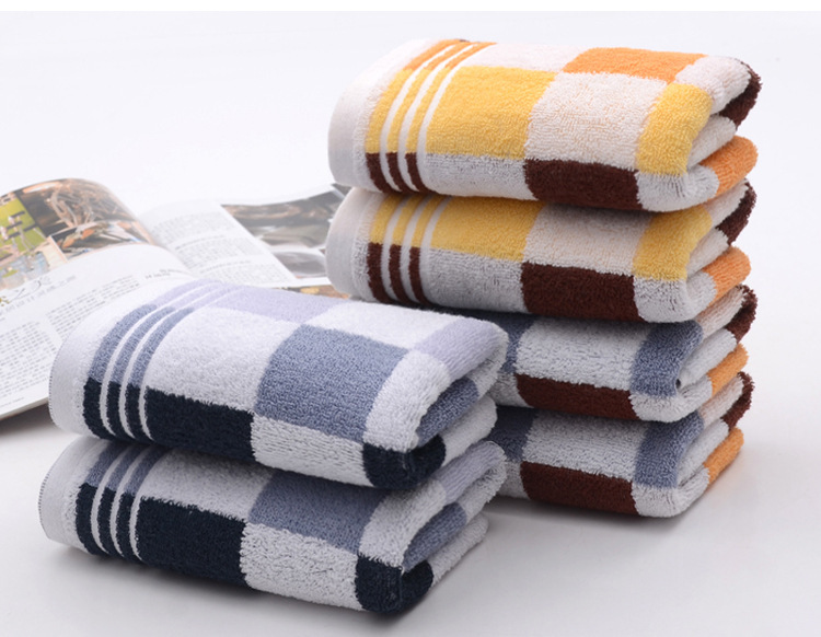 2015 New Quality Popular Brand Face Towels hand Towels 34*74 cm 100% cotton towel 3 pcs/lot Free shipping(China (Mainland))