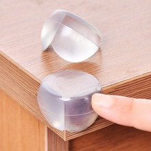 Child Baby Safety Silicone Protector Table Corner Protection Cover Children Anticollision Edge Corner Guards Furniture Protector(China (Mainland))