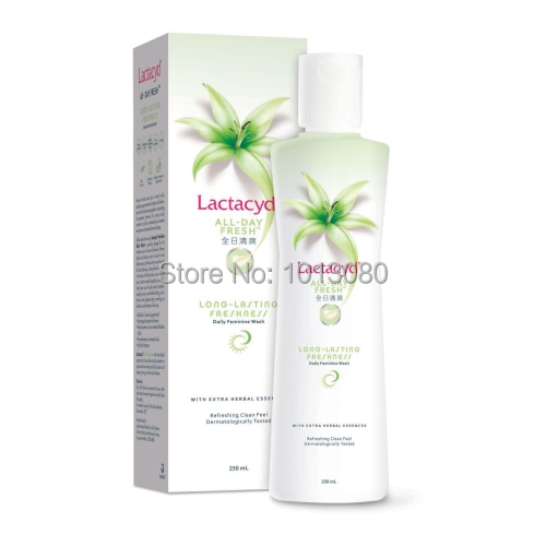 Hong Kong First-Ever Lactacyd All Day Fresh Daily Feminine Wash Hygiene Product 250ml(China (Mainland))
