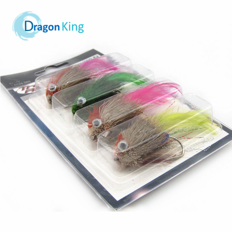 FREE SHIPPING fly fishing lure 12 pcs different colors Giant salamander  surface fishing  fishing tackle<br><br>Aliexpress