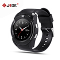 JRGK V8 Bluetooth Smart watch With SIM TF Card Camera Sports Relojes SmartWatch Phone For Android
