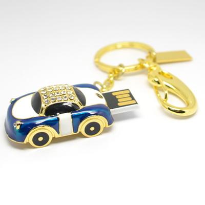Jewelry usb drive gifts cars Diamond pen drive 8gb 16gb 32gb Car Racing keychain pen drive flash usb pendrive memory stick(China (Mainland))