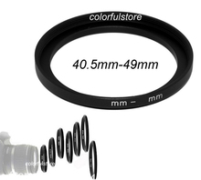 FREE SHIP+TRACKING 40.5mm to 49mm 40.5mm-49mm 40.5 49 mm Metal Step-Up Step Up Ring Camera Lens Lenses Filter Stepping Adapter