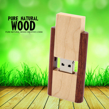 Buy Pendrive 128GB Wooden Usb flash drive customized wood USB flash drive u disk USB 2.0 flash drive 4G 8GB 16GB 32GB 64GB stick for $2.54 in AliExpress store