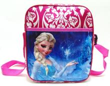 elsa bag for gift Snow Queen anna elsa cute cartoon bags and school bag Queen doll bag(China (Mainland))