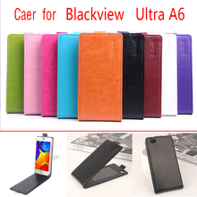 HongBaiwei Blackview Ultra A6 Case Luxury PU Leather Flip Case for Blackview Ultra A6 Luxury Brand Vintage Phone Case Cover