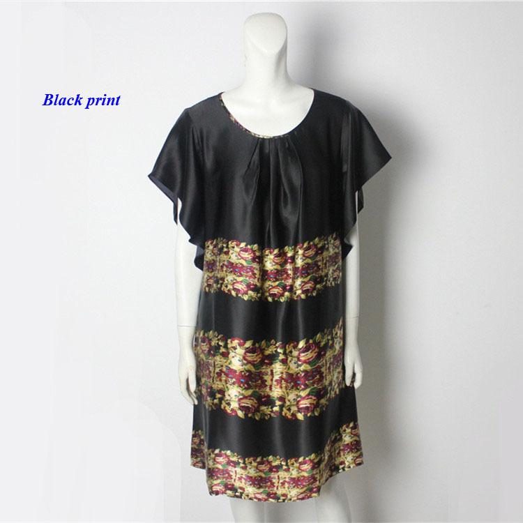 100% mulberry silk plus size round-neckline ruffles dress,pure silk batwing sleeve summer dress,100% silk loose women dress