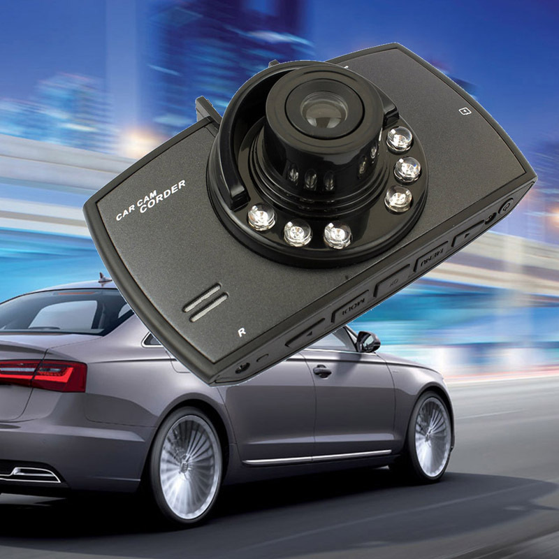 2015 Best Selling 2 4 120 Degree Wide Angle HD Car DVR Camera Recorder Motion Detection