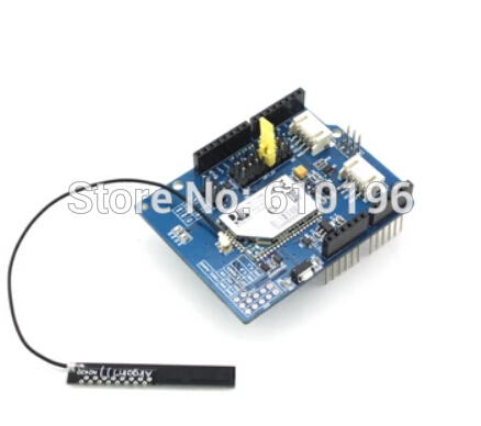 RN171 Wifi Shield Expansion Board Module Smart Home Support TCP / UDP / FTP With Antenna for arduino