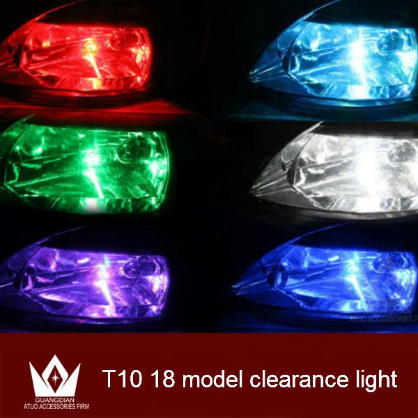 Guang Dian 2pcs! strobe light Multicolor 6W T10 LED Canbus Strobe Flash Light M26 led width lamp flash lamp warning light(China (Mainland))