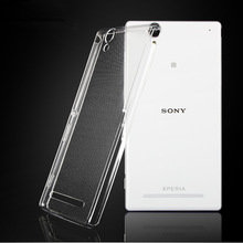 Buy Ultra Thin Soft Clear TPU Silicone Rubber Protective Back Cover Case Sony Xperia T2 Ultra D5322 D5303 D5306 XM50H for $1.03 in AliExpress store