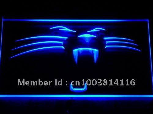 122-b Carolina Panthers Football Bar LED Neon Light Sign Wholesale Dropshipping(China (Mainland))
