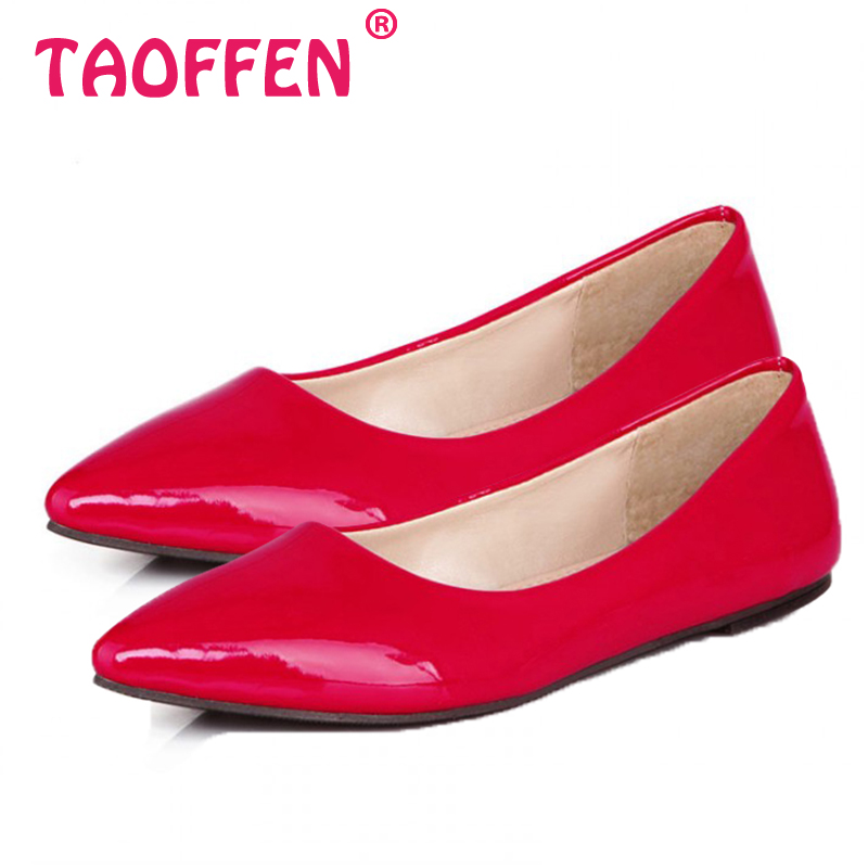 women flat casual candy color shoes lady sexy dress pointed toe footwear fashion P11816 hot sale EUR size 32-43(China (Mainland))