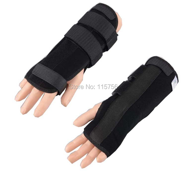 1pc/lot Carpal Tunnel 2 Wrist Brace Support Sprain Forearm Splint Band Strap WR10483