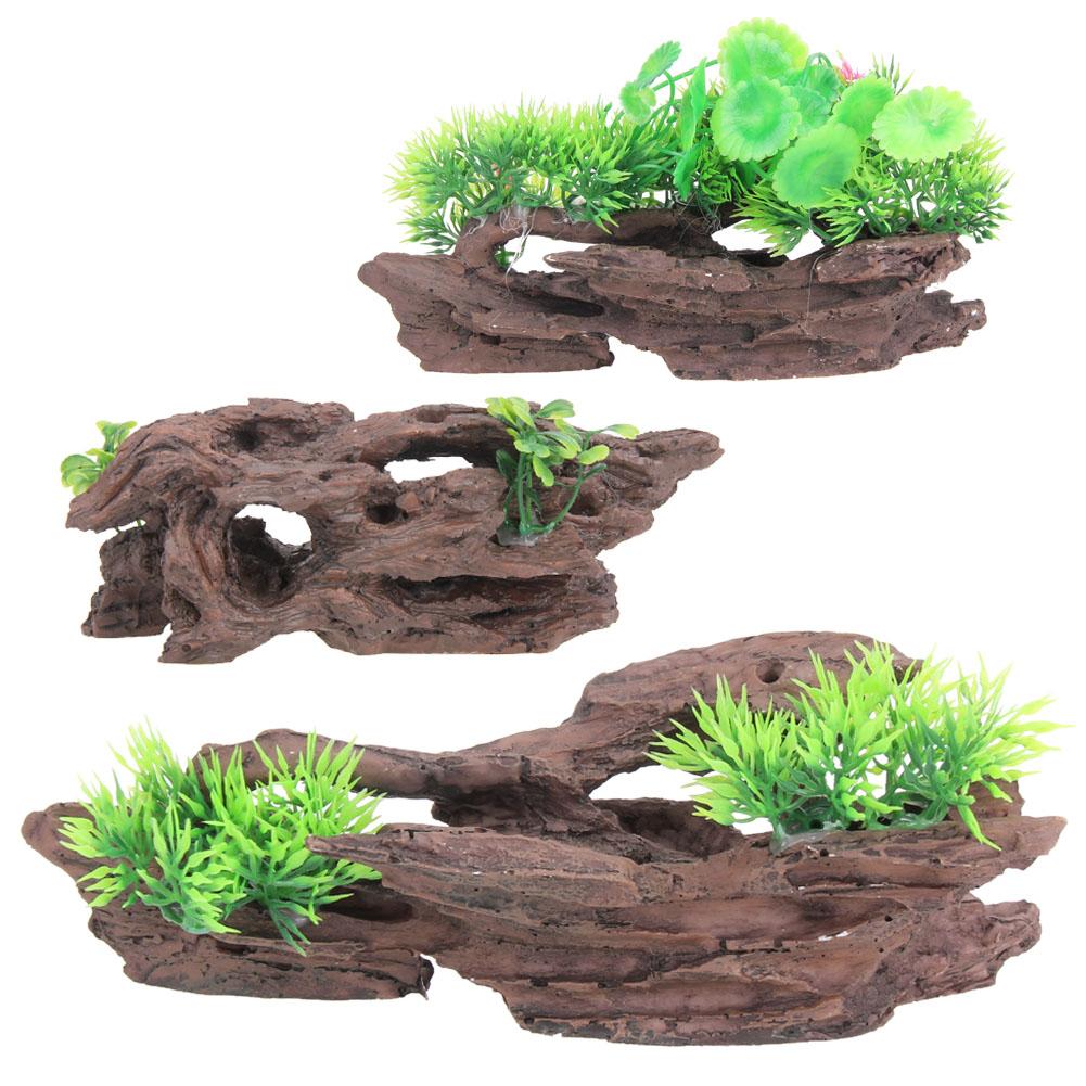Achetez en gros d coratif troncs d 39 arbres en ligne des for Decoration bois flotte aquarium