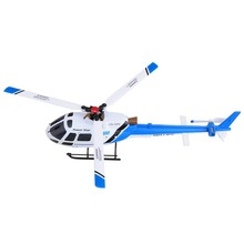2015 Hot Model 2.4G 6CH Brushless RC Helicopter With Motor Flybarless 6 Axis Gyro 3 Blade AS350 Scale Little Squirrel