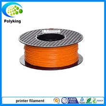 oringe  color 3d printer filament PLA/ABS 1.75mm/3mm 1kg Consumables Material MakerBot/RepRap/UP/Mendel Hot sale