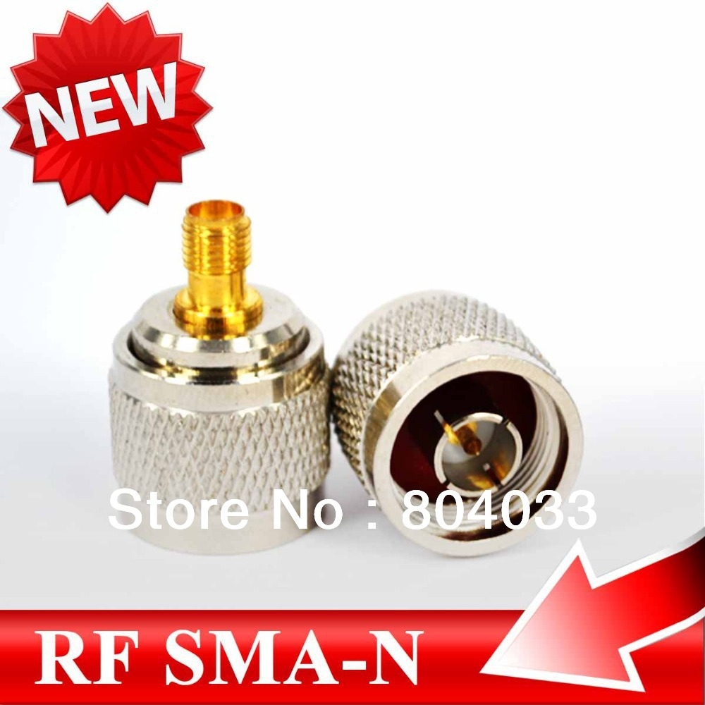 5pcs UHF RF Adapter Coaxial N male to SMA female Connector adapter straight Connector for Telecom GPS GSM Antenna(China (Mainland))