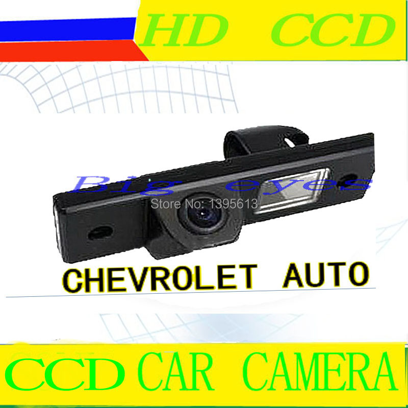 CCD Sensor Car Rear View Reverse Parking Kit Back up CAMERA forCHEVROLET Epica/Lova/Aveo/Captiva/Cruze/Matis/HHR/Lacetti(China (Mainland))