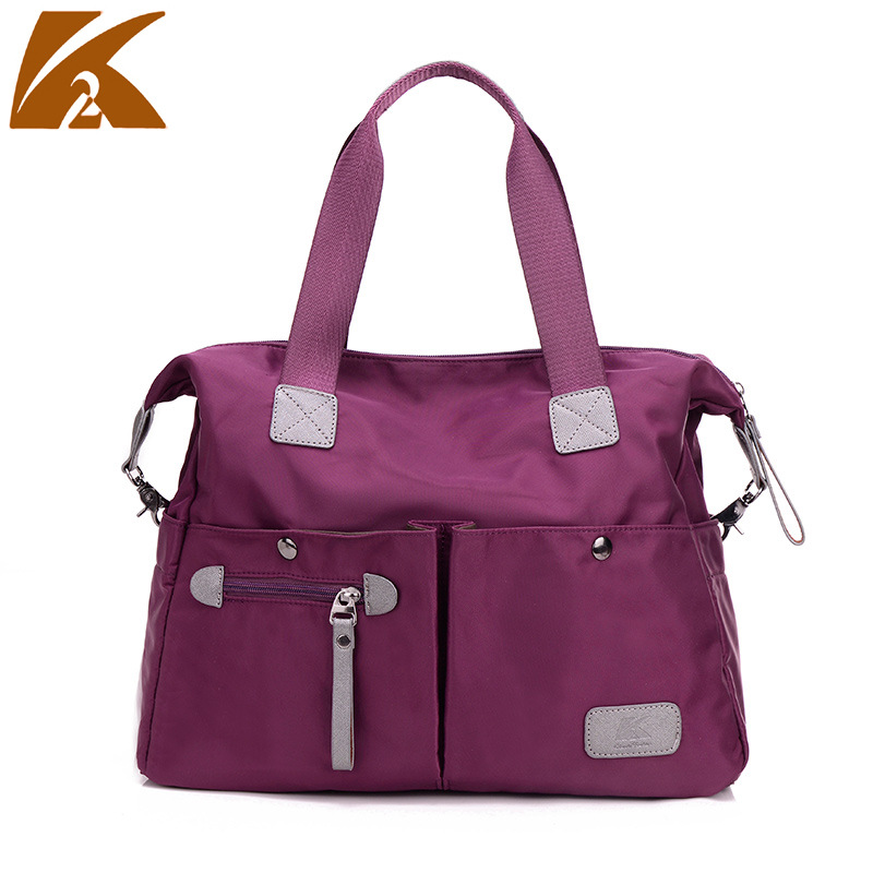 The New Bag Korean Diagonal Travel Bag Canvas Portable Lady Oxford Nylon Shoulder Bag Messenger Bag(China (Mainland))