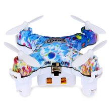 Buy CX 10D RC Simulators 2.4G 4CH 6-Axis Gyro RTF Mini Aircraft Remote Control Quadcopter Drone Two Colors Choose for $19.85 in AliExpress store