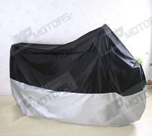 Motorcycle Waterproof Cover Fits For Yamaha XVS Drag Star/V Star 400 650 950 V Star1100 1300  XXL Size 245*105*125cm(China (Mainland))