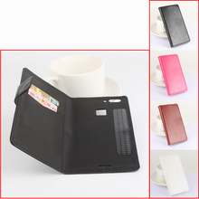 Original HongBaiwei Left Right Flip 2 card slots Leather Case Stand Holster UMI Iron Pro Smartphone - Jiashi xing store
