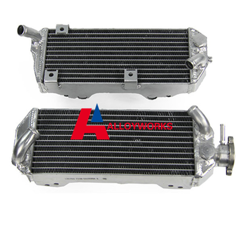 Фотография NEW 40MM THICK 2 ROW CORE ALUMINUM ALLOY Radiator FOR SUZUKI DRZ400S DRZ400SM 00-08 BRAND Motorcycle Both Of Side Of OEM Parts