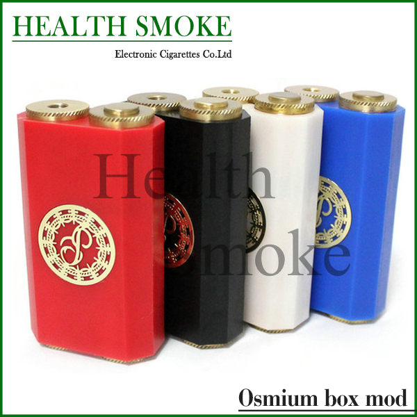 2015 Osmium Box Mod Dual 18650 Mechanical Mod fit 22mm Diameter RDA RBA Atomizers free shipping<br><br>Aliexpress