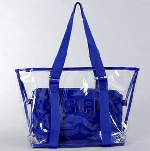 Women Handbag Real Sale Bolsa Feminina 2014 Transparent Bags Crystal Bag Jelly Beach Women's Handbag Plastic Plus free Shipping(China (Mainland))