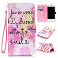 New Painting Leather Flip Book Wallet Cell Phone Case Soft Cover For Samsung Galaxy S5 S6