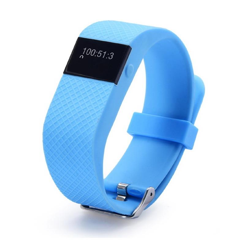 5PCS Heart rate measurement bluetooth bracelet TW64S life waterproof 0.49 OLED screen alarm clock(China (Mainland))