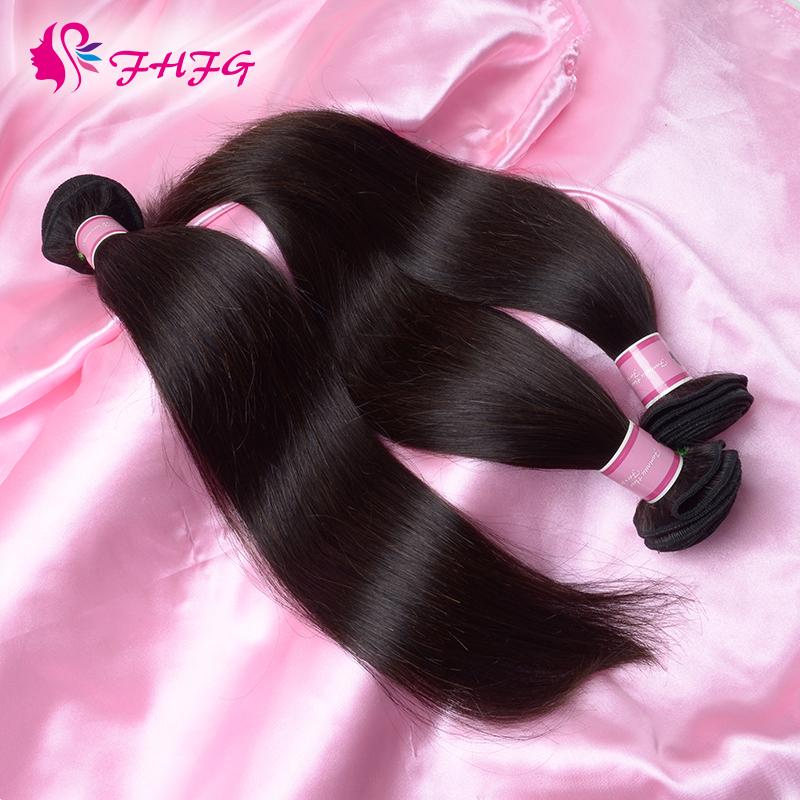 Unprocessed Cheap Aliexpress Brazilian Hair Kinky Extensions KBL Brazilian Virgin Hair Weaving Straight Natural Black Human Hair(China (Mainland))