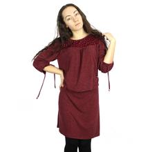 BFDADI 2016 Женская Новинка Осень и Зима Свободного Покроя Шею С Кружевном Платье Рабочая Одежда Свадебные Платья Большой Размер 7315(China (Mainland))